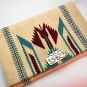 Antique Chimayo Purse w/卍 Thunderbird Cncho c.1930