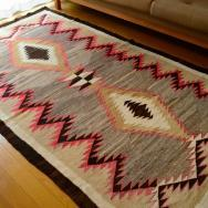 Antique 【Crystal】 Navajo Rug 『Dazzler』  c.1930~  125/226