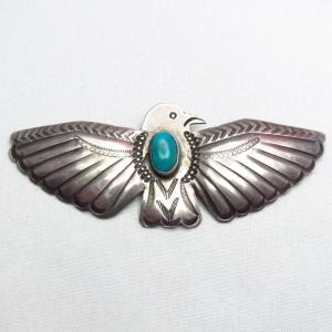 Antique UITA22 Thunderbird Shape Pin w/TQ  c.1930~