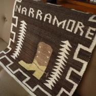 Vintage Navajo Rug 【Pictorial】 Boot Sign  69/66