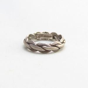 Vintage 【BELL TRADING】 Twisted Triangle Wire Ring  c.1945~