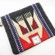 【Ganscraft】Atq Chimayo Purse w/Crossed Arrows Concho c.1940