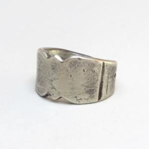 Dyaami Lewis Acoma Pre 1890's Style Silver Ring  JP25