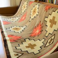 Antique Navajo Rug 【Crystal】  c.1920 103/156